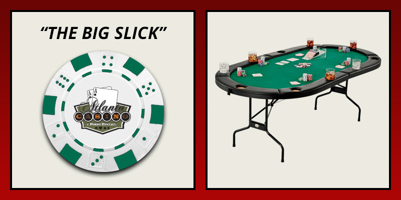 The Big Slick table rental