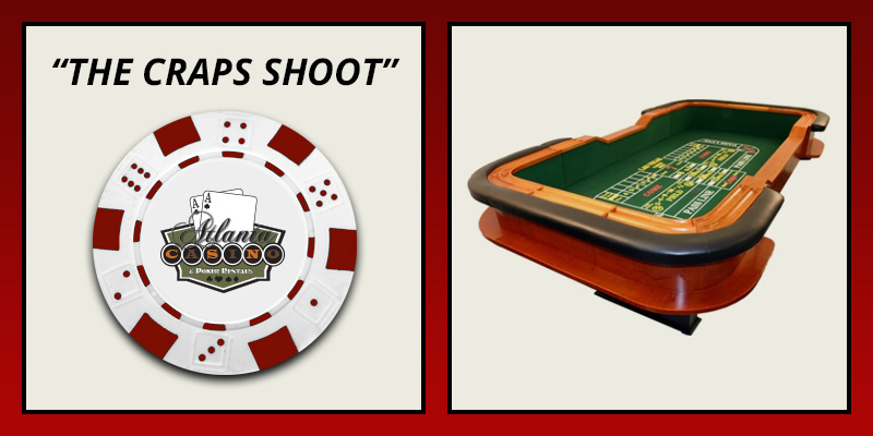 The Craps Shoot table rental