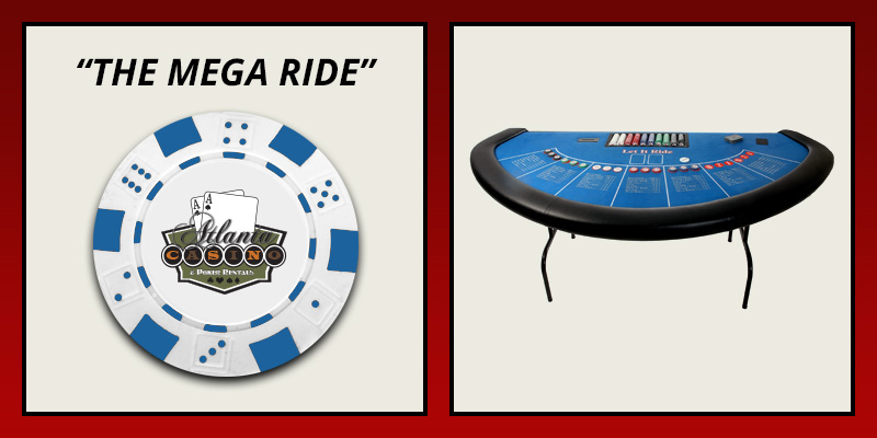 The mega ride table rental